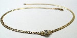 41cm Brillant-Collier Gelbgold 585/- - CO-585-BR-0,25